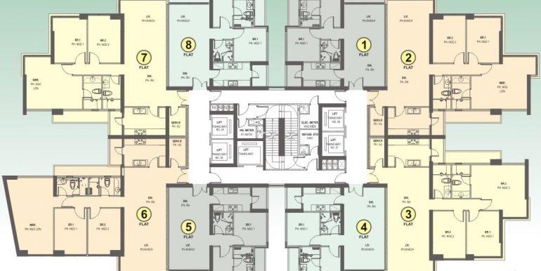 Saigon-Pearl-mat-bang-layout-Sapphire1