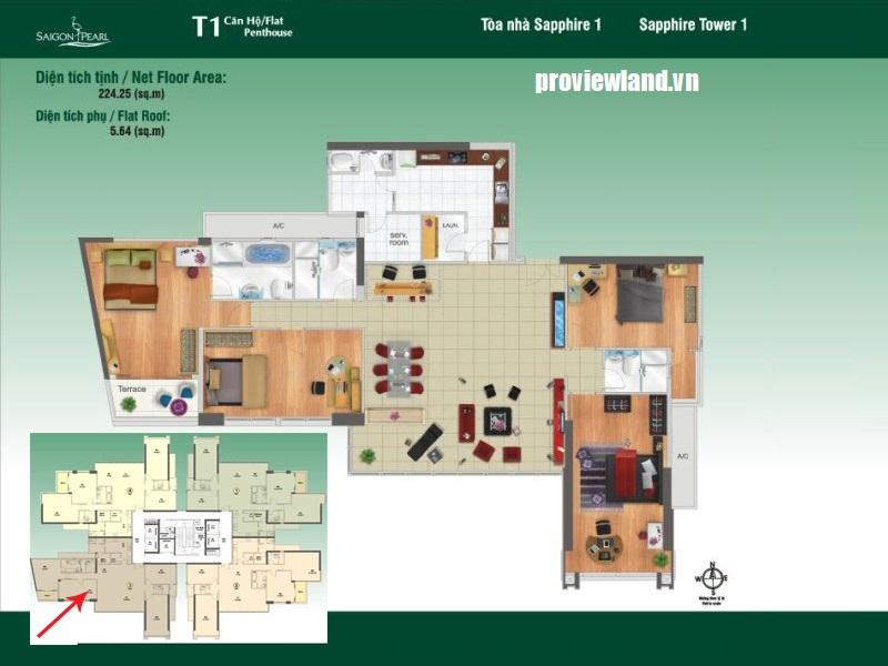 Saigon-Pearl-mat-bang-layout-Sapphire1-Penthouse-3pn-230m2-l3
