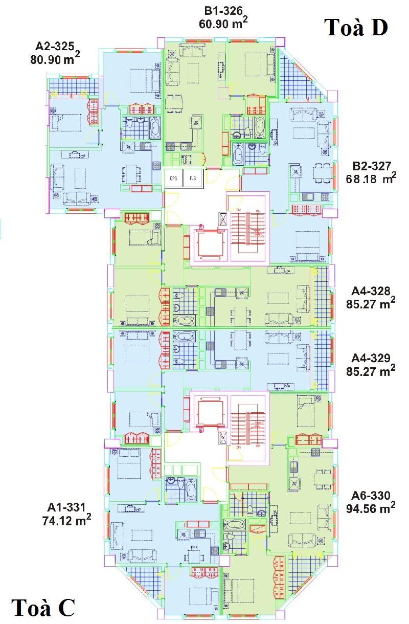 The-Manor-layout-Mat-bang-Block-C-D
