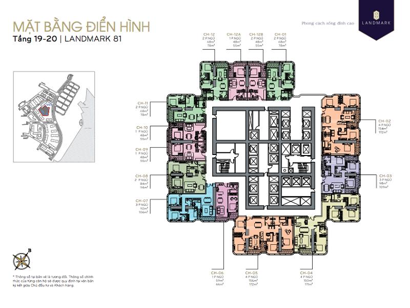 Vinhomes-Central-Park-Landmark81-floor-19-20