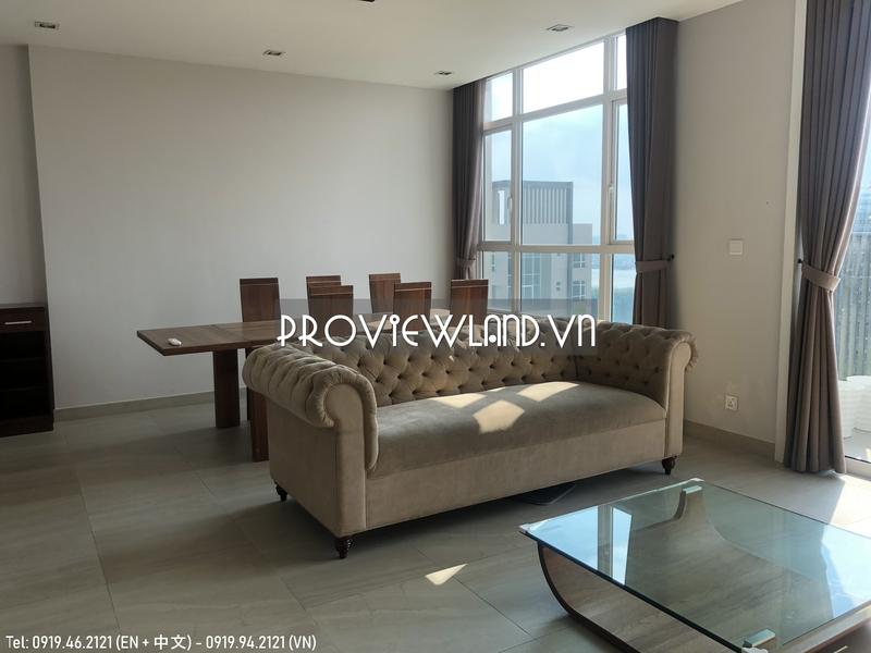 Căn hộ Penthouse Vista Verde cần bán 3 tầng view sông
