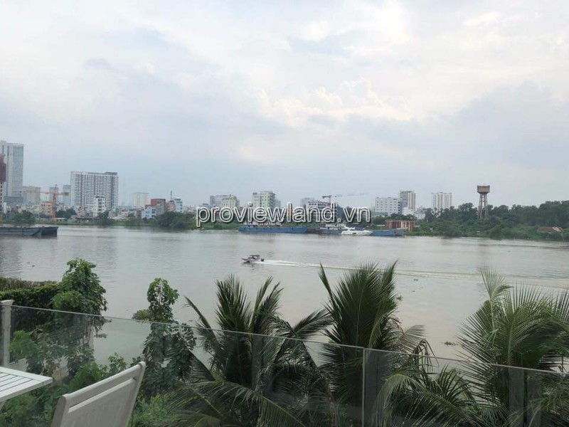 Bán villa Thảo Điền mặt sông Sài Gòn diện tích 1400m2 view sông