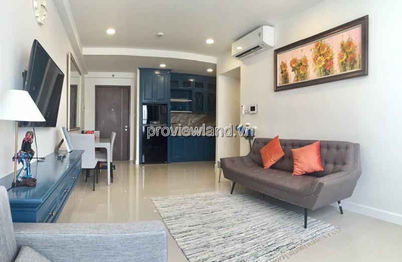 Cho thuê căn hộ quận 4 ICON 56 Bến Vân Đồn view sông 88m2 3 phòng ngủ