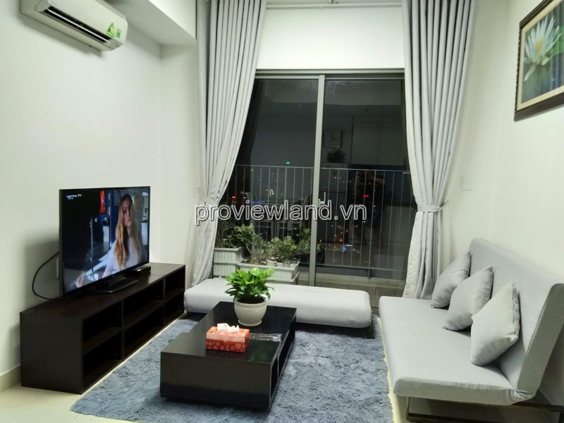 Masteri Thao Dien apartment for rent with nice house with 2 bedrooms Landmark 81 view