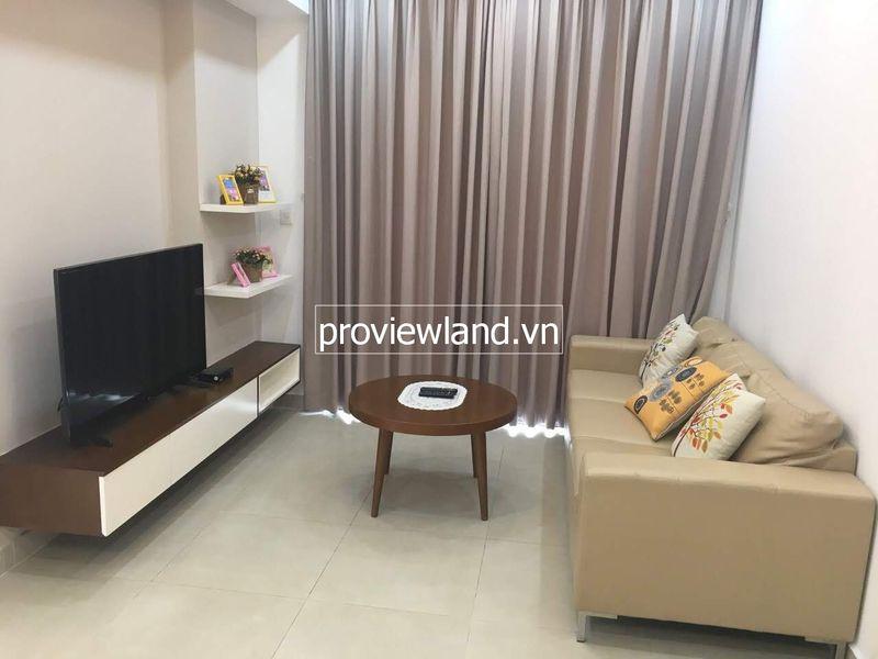 Cho thuê căn hộ cao cấp Masteri với 2 phòng ngủ view sông