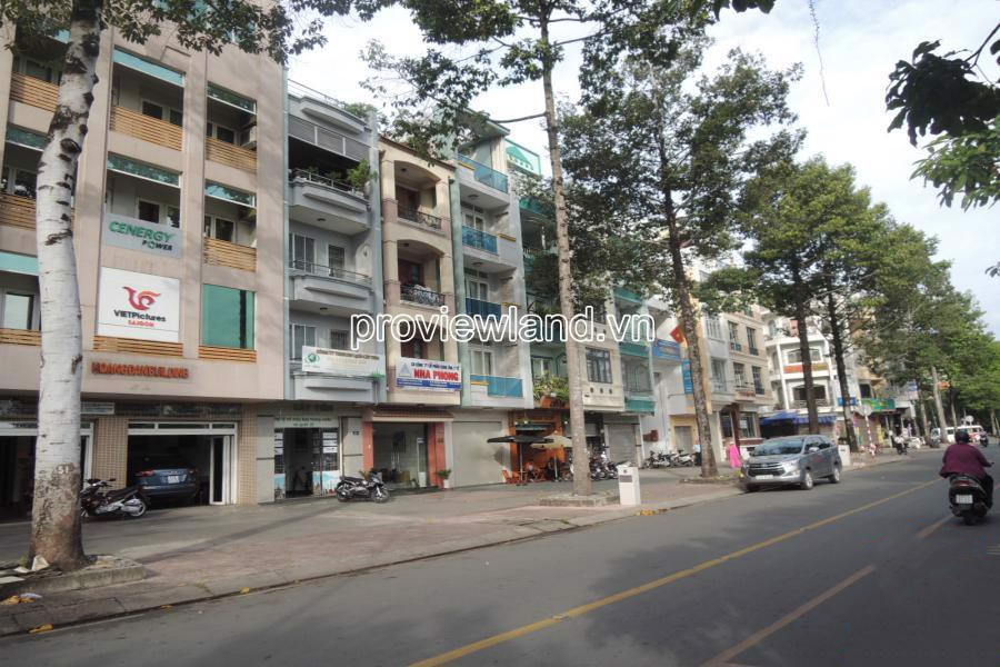 Townhouse for sale downtown front District 1 with good price
