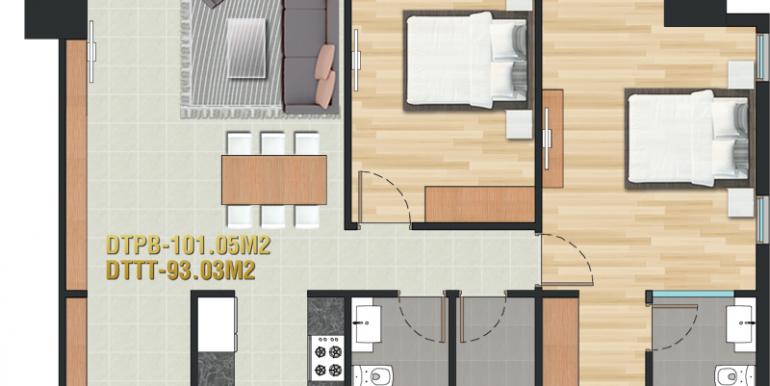 Pearl-Plaza-layout-mat-bang-can-ho-2pn-101m2