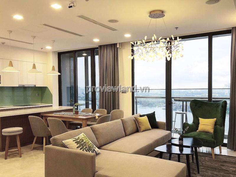 Căn hộ Vinhome Golden River cho thuê 3 phòng ngủ view sông