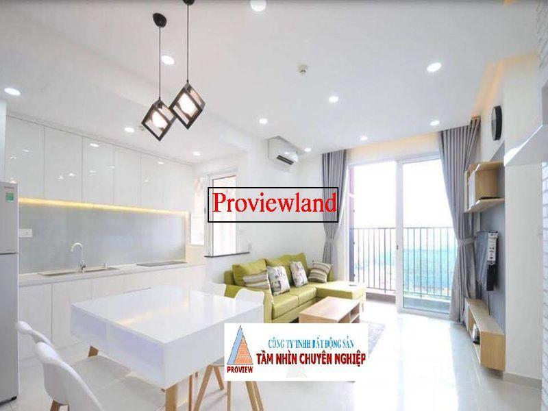 Vista Verde căn hộ cho thuê 1 phòng ngủ nội thất đầy đủ