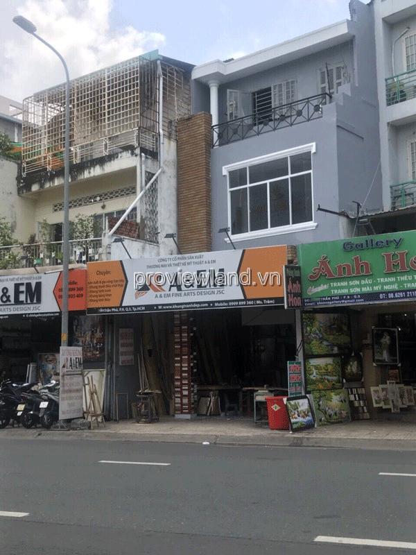 Bán nhà đường mặt tiền Trần Phú Quận 5 diện tích 110m2 1 trệt 1 lững 3 lầu