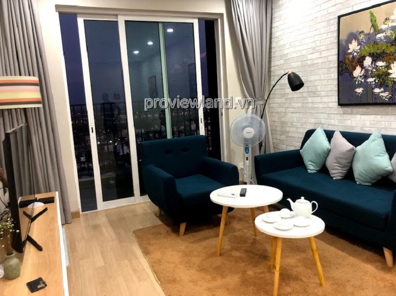 Cho  thuê căn hộ Vista Verde 2 phòng ngủ tầng cao đầy đủ nội thất