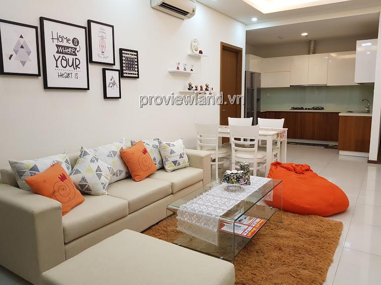 Cần cho thuê gấp căn hộ Thảo Điền Peal 2 phòng ngủ tầng trung nội thất đầy đủ