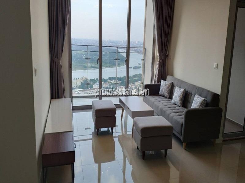 Cho thuê căn hộ  tại Estella Heights tầng cao view sông đẹp