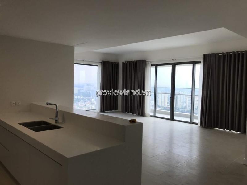 Căn hộ 3 phòng ngủ tại Gateway Thảo Điền cần cho thuê tầng cao