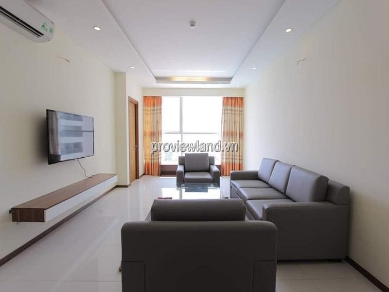 Thảo Điền Pearl cho thuê căn hộ tầng thấp 2 phòng ngủ nội thất đầy đủ
