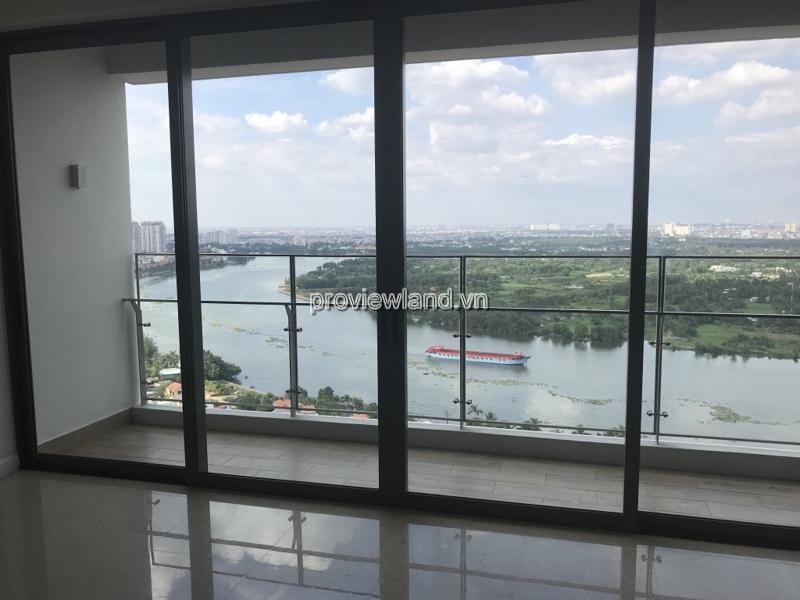 Cần bán căn hộ The Nassim view sông đẹp 4 phòng ngủ tầng cao
