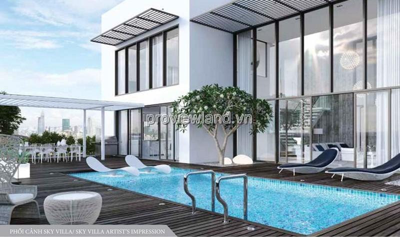 Căn Sky Villa Diamond Island 650m2 2 tầng có hồ bơi và sân vườn riêng