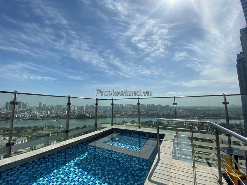 Sky Villa Vinhomes Landmark81 with swimming pool for sale full furnished