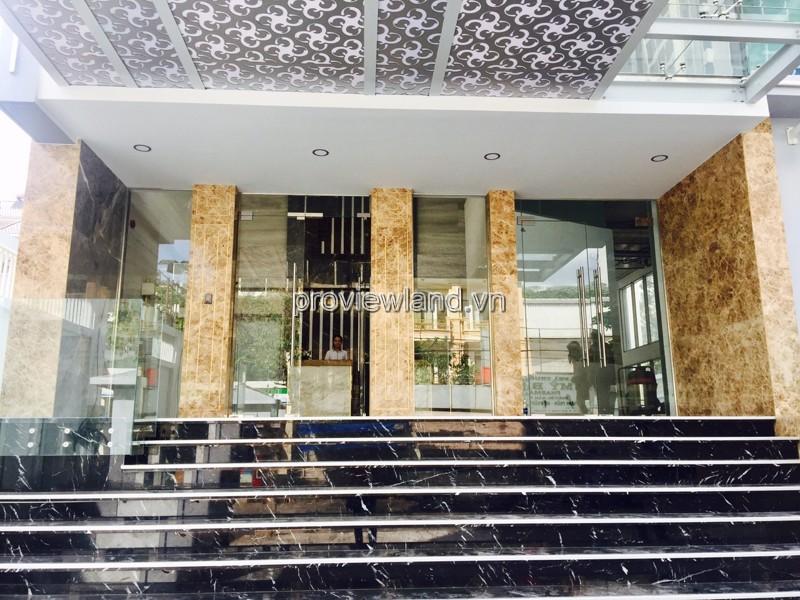 Bán tòa nhà căn hộ dịch vụ Thảo Điền Q2 DT 546m2 gồm 26 căn hộ