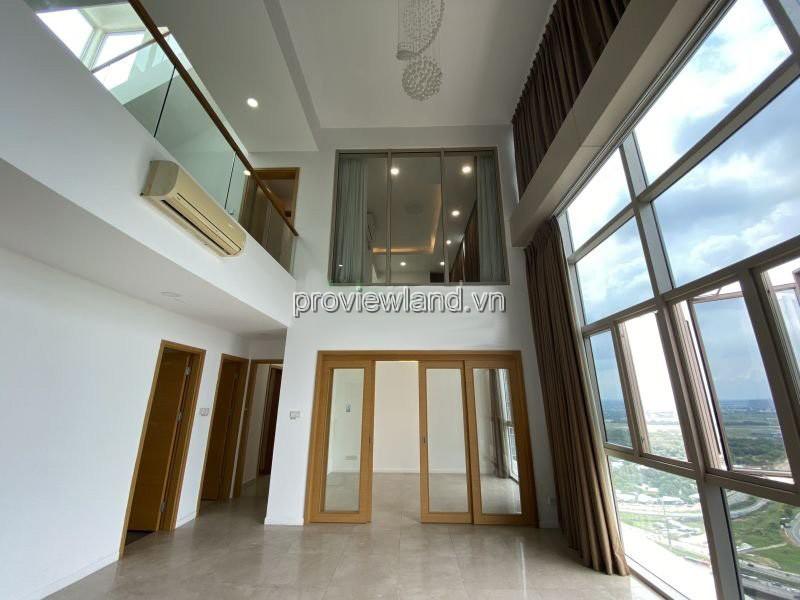 The Vista Penthouse cần bán căn hộ thông 3 tầng 470m2 view hồ bơi 5 phòng ngủ