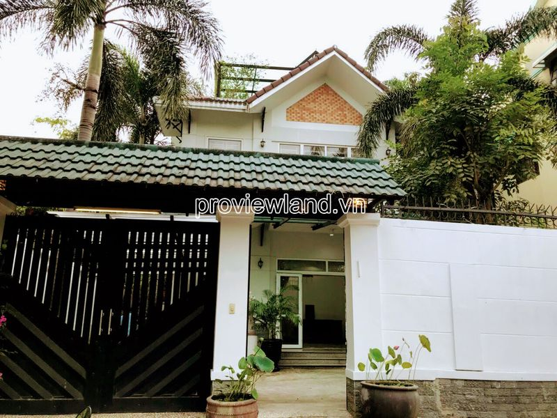 For sale villa Fideco Thao Dien area 362m2 1 ground 2 floors 5 bedrooms