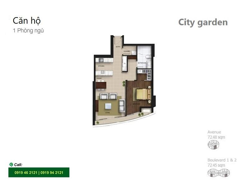 City-garden-layout-Mat-bang-Boulevard-Avenue-1pn-70m2-B