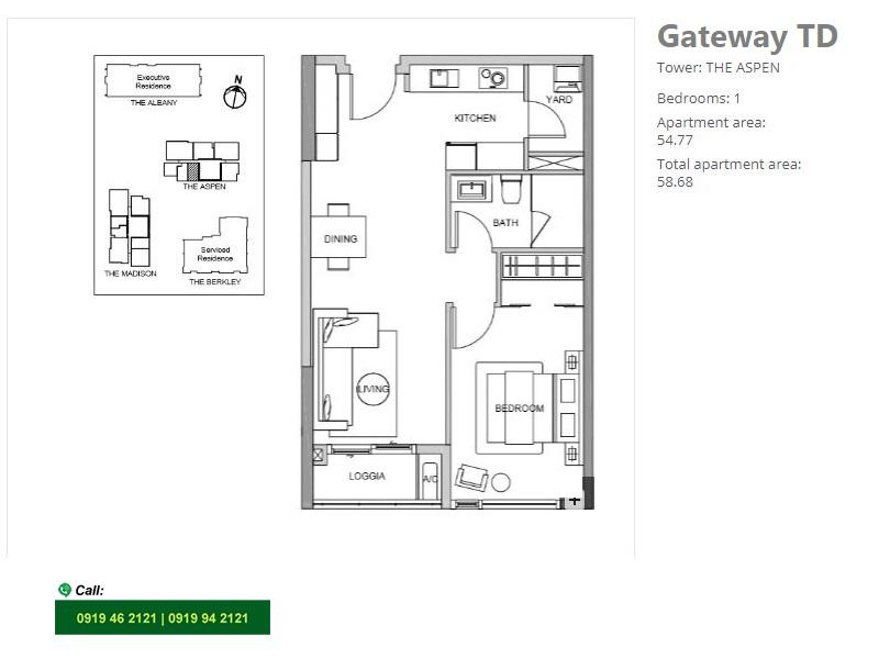 Gateway-Thao-Dien-Aspen-layout-mat-bang-can-ho-1pn-58m2