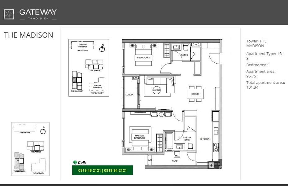 Gateway-Thao-Dien-Madison-layout-mat-bang-can-ho-2pn-101m2