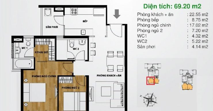 Layout-The-Ascent-apartment-2Bedrooms-Mat-bang-can-ho-2PN-A2-740x555