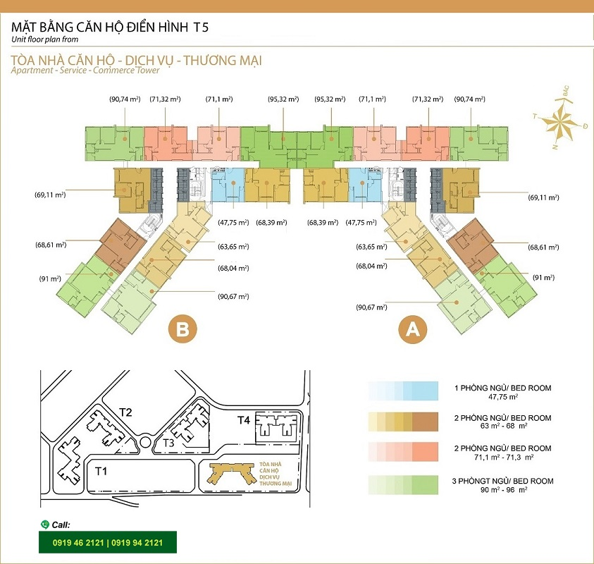 Masteri-Thao-Dien-Mat-bang-layout-T5-3pn-91m2