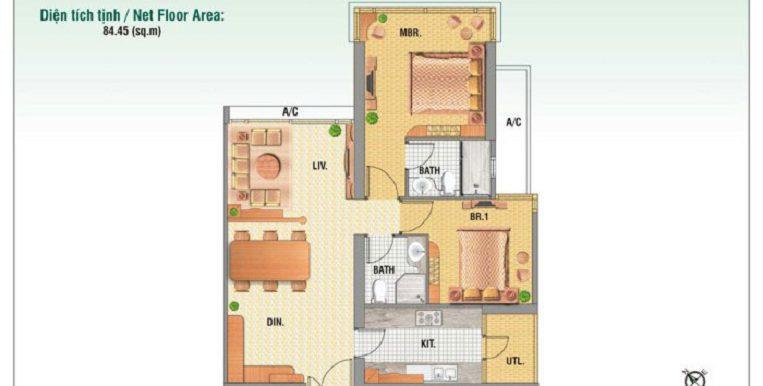 Saigon-Pearl-mat-bang-layout-Ruby1-2pn-85m2