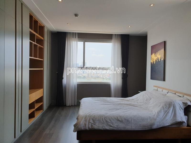 Cho thuê căn hộ tại Tropic Garden Thảo Điền tầng cao 3 phòng ngủ
