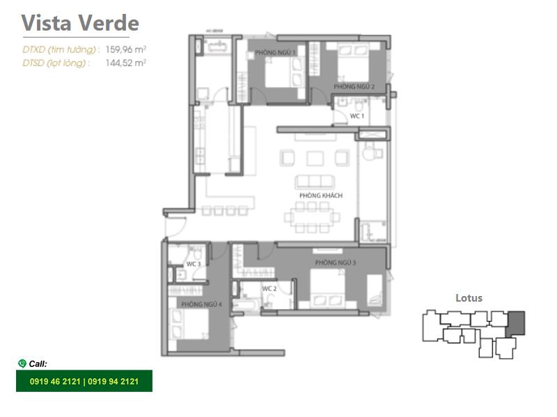Vista-Verde-mat-bang-layout-Lotus-4pn-160m2