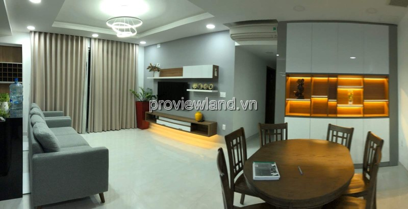 Apartment Tropic garden, 105m2, 3 Brs, 3 Wcs, near saigon river, fully furnished for rent