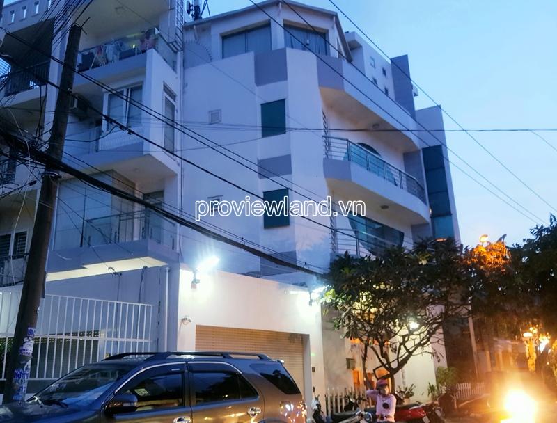 Bán nhà phố 2 mặt tiền đường Tống Hữu Định Thảo Điền 1 trệt 3 lầu