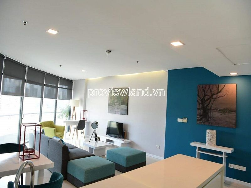 Luxury apartment in City Garden Binh Thanh for sale with 3 bedrooms on the middle floor