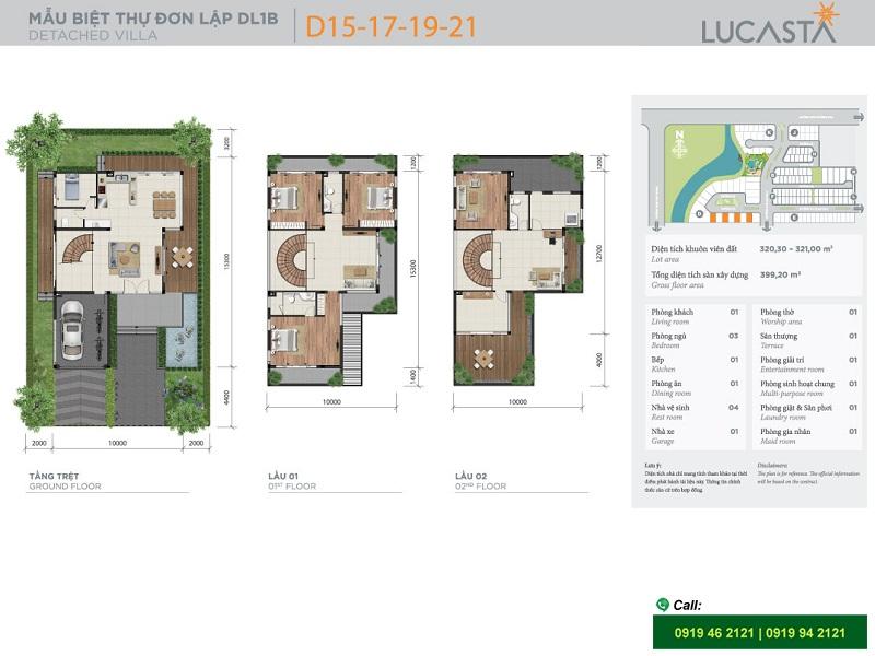 Lucasta-Khang-Dien-biet-thu-villa-mat-bang-don-lap-1B