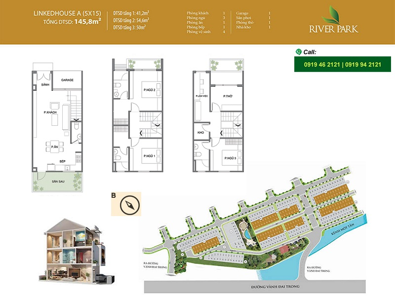 River-Park-layout-mat-bang-linked-house-A