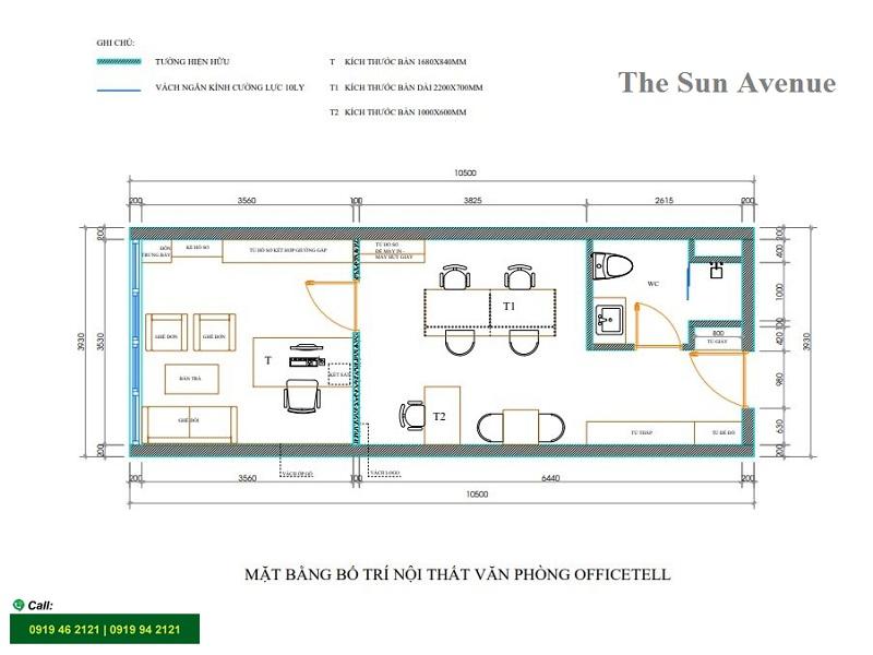 The-sun-avenue-layout-mat-bang-sav3-officetel-t2-33