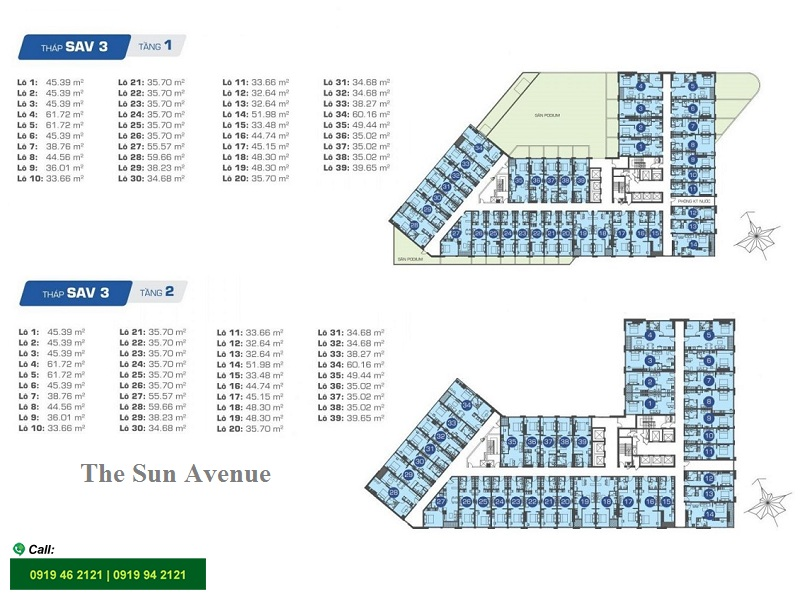 The-sun-avenue-layout-mat-bang-thap-t3-officetel-tang-1-2
