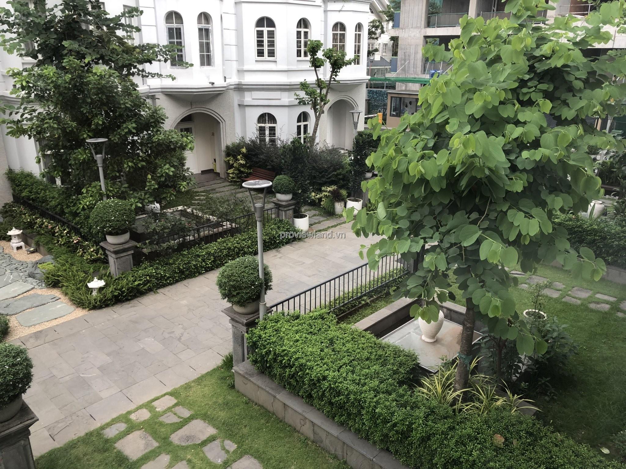 Bán biệt thự bờ sông tại Saigon Pearl có diện tích 575m2 mặt sông 21m