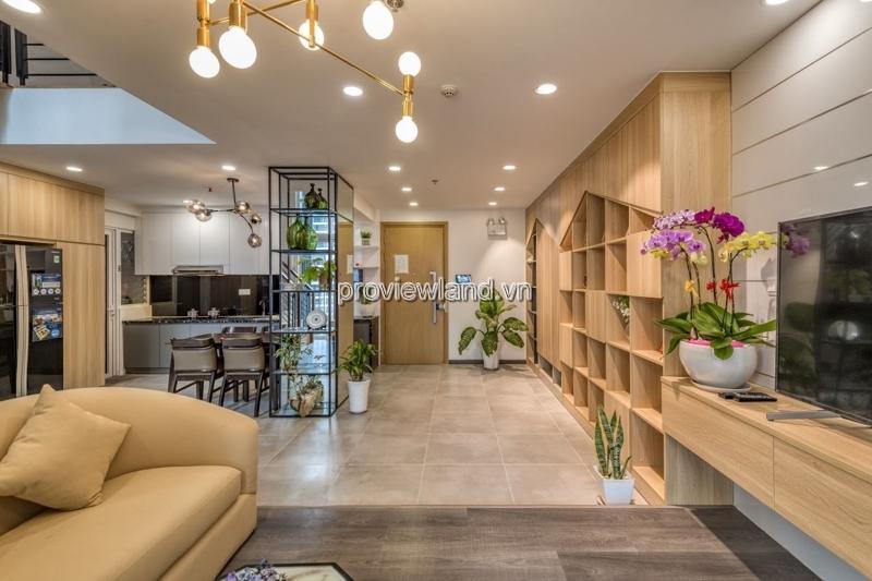 Cần bán căn hộ  Duplex Vista Verde 2 phòng ngủ full nội thất tầng cao view hồ bơi đẹp