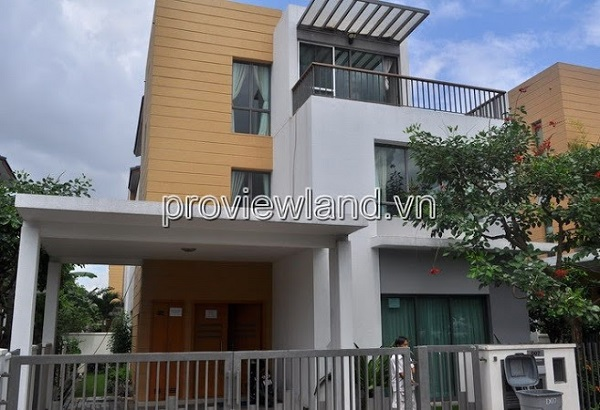 Villa Riviera in District 2 for sale, 345m2, 1 ground 2 floors 4 bedrooms