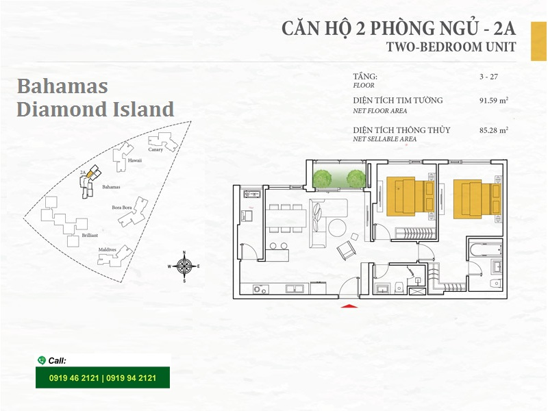 Diamond-Island-DKC-Bahamas-layout-2A-2PN