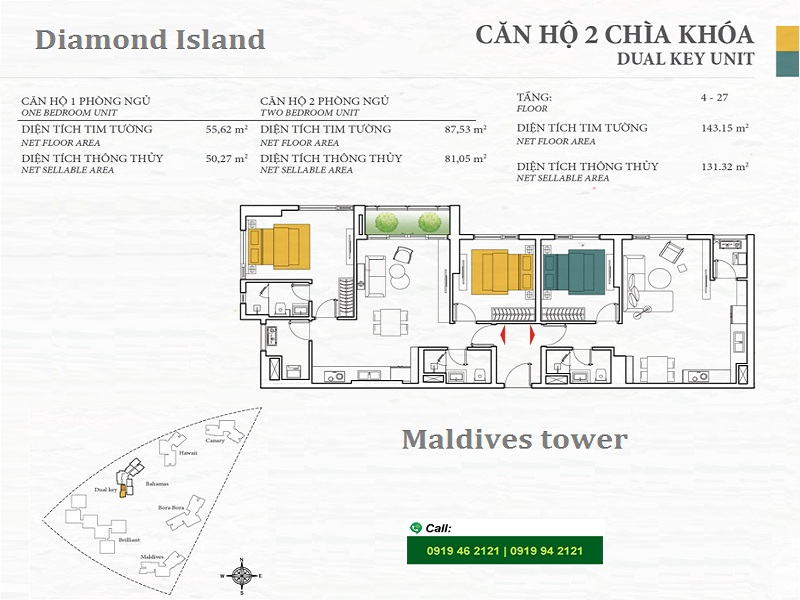 Diamond-Island-DKC-Bahamas-layout-Dual-key-3PN