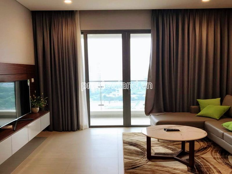 Two-key apartment for sale in Diamond Island with 3 bedrooms river view