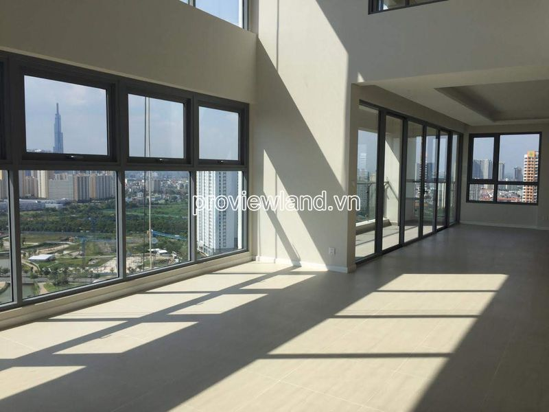 Duplex Diamond Island apartment with 2 floors for sale high floor with river view in Bahamas tower