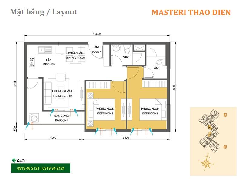 Masteri-Thao-Dien-mat-bang-layout-T1-2pn-65m2