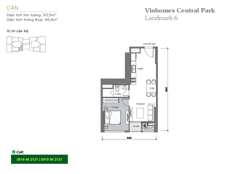 Vinhomes-Central-Park-Landmark6-layout-mat-bang-can-ho-1PN-50m2