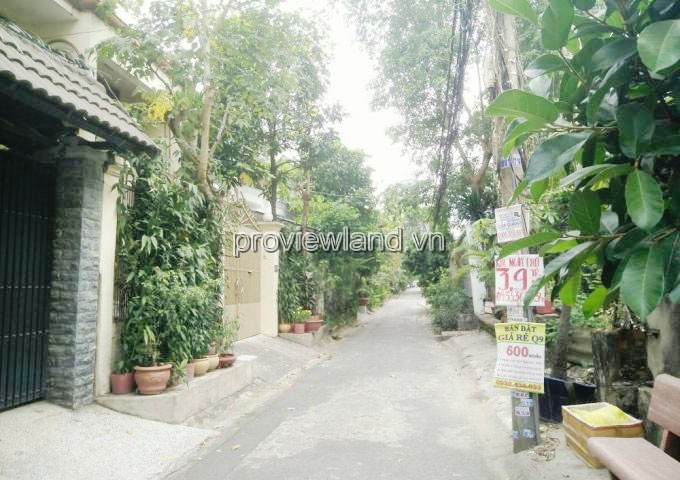 Land for sale on street 4 Thao Dien, District 2, area 10x11m